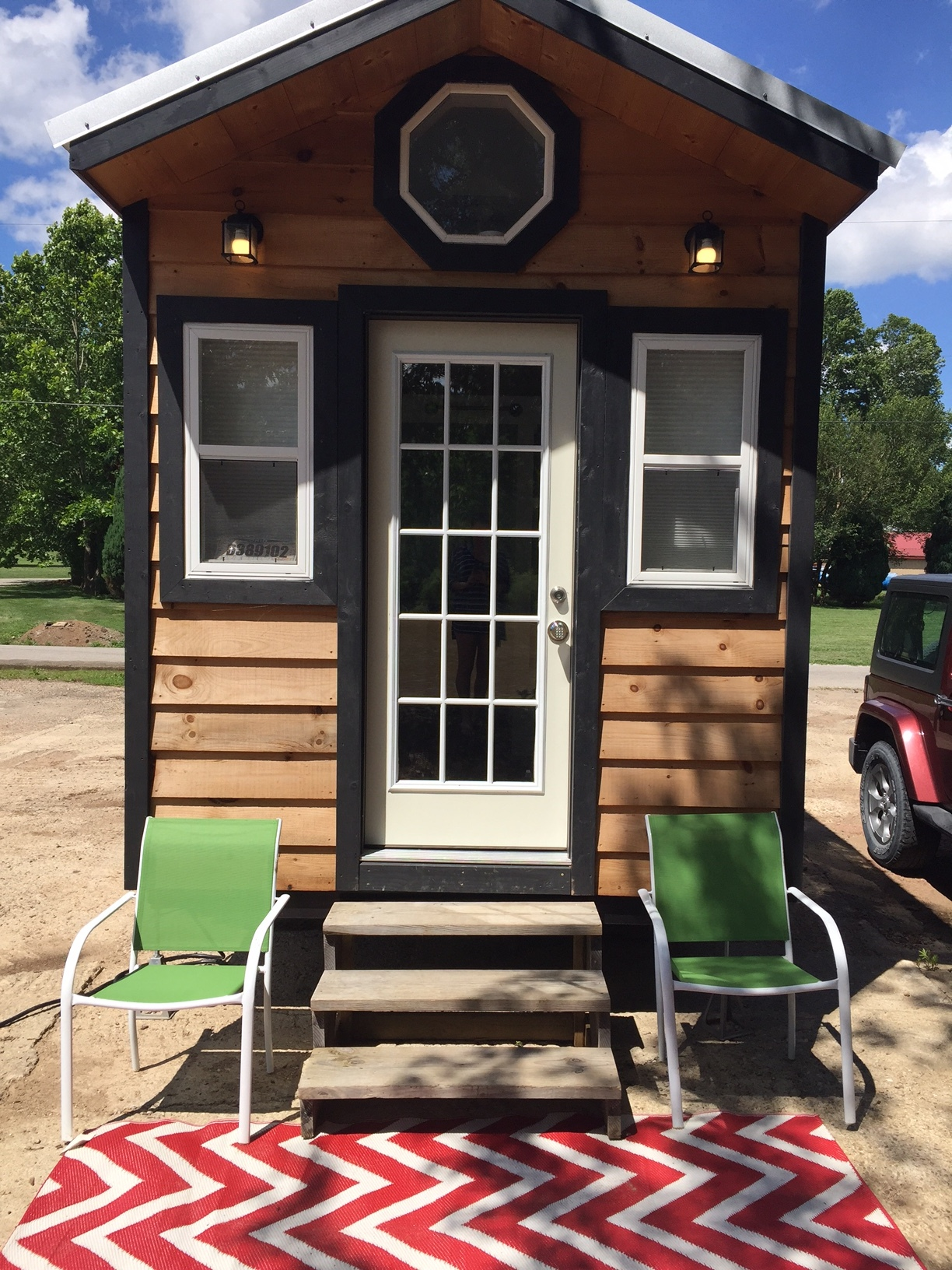 Tiny home on wheels in Marietta, OH