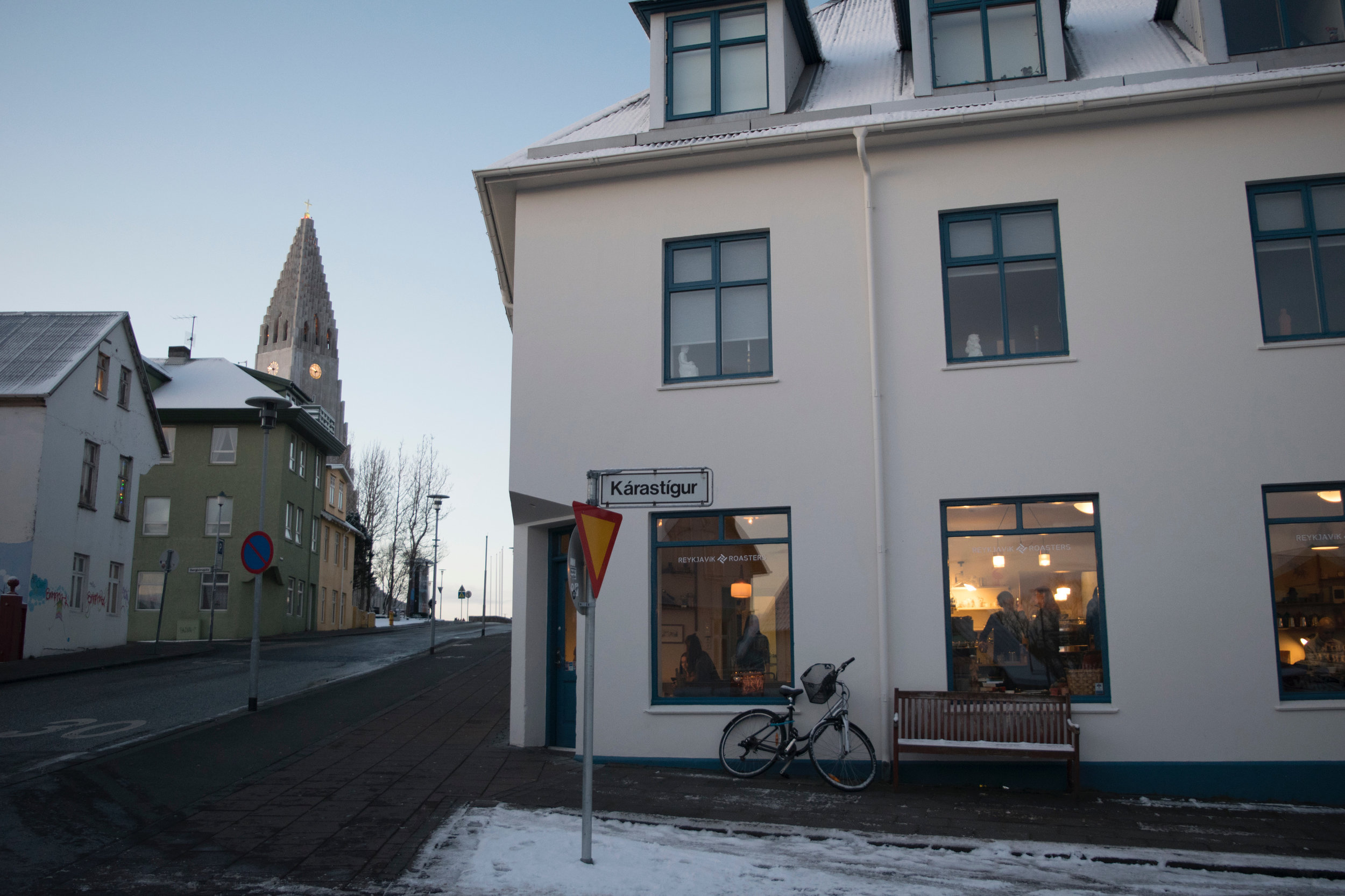 Reykjavik Roasters is a great centrally located coffee shop!