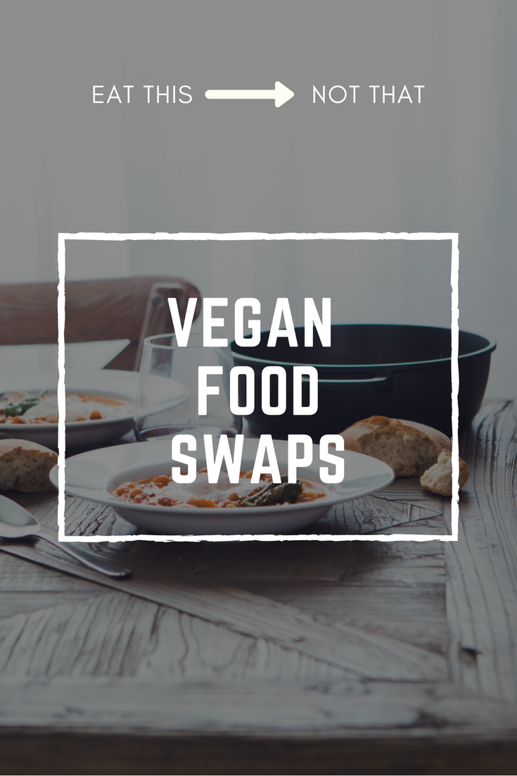 Here you will find all my favorite vegan food swaps!