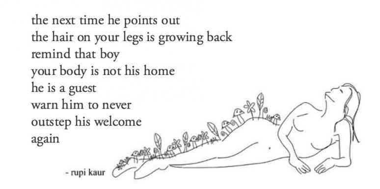 Poem by Rupi Kaur