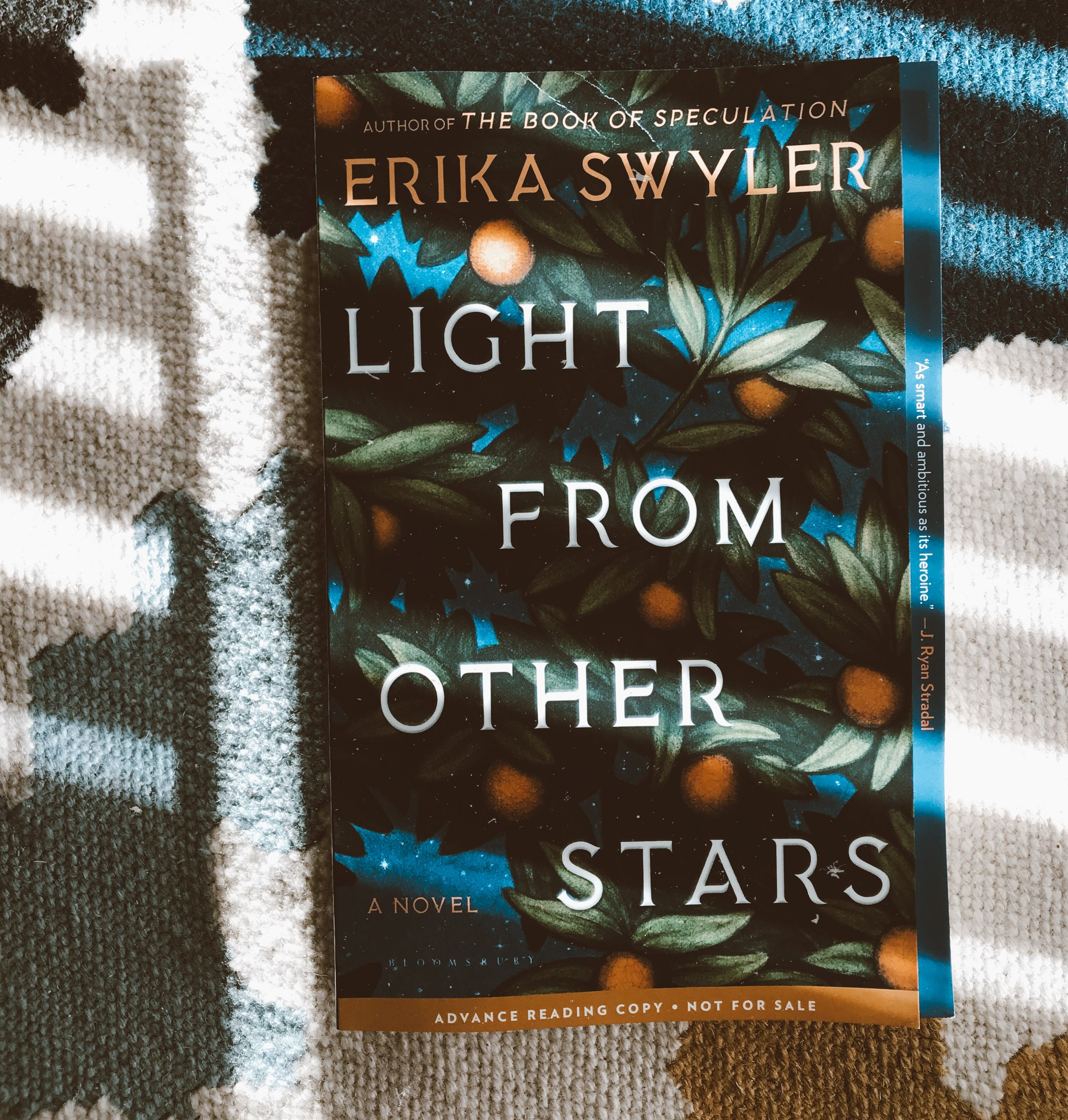 This is my review for Erika Swyler''s newest book,  Light From Other Stars