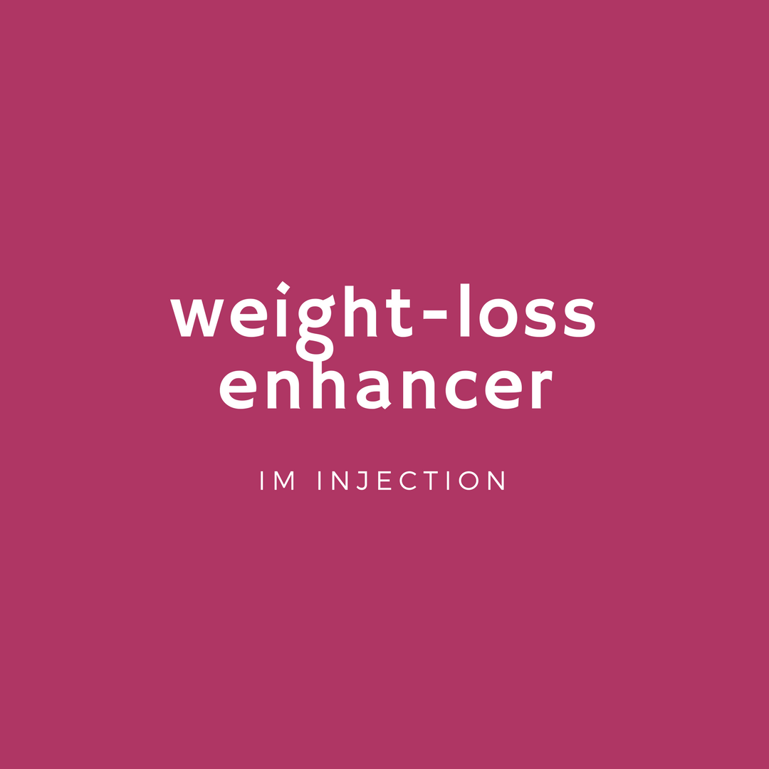 - a combination of lipotropic vitamins and amino acids combined with B's & chromium to aid in your weight loss