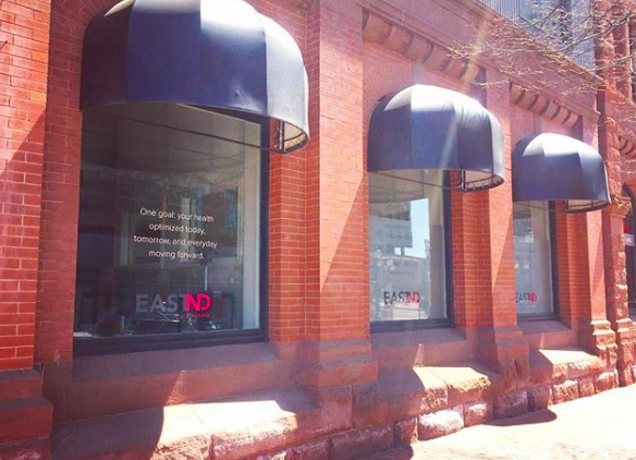 Our Clinic - You can find us located at 7 Alma St.just off Main St. in downtown Moncton.In addition to our services, we have a variety of hand-selected natural products and REVIVD's fresh juice available to the public.