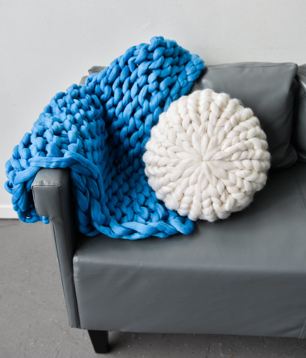 handmade holiday gifts chunky knit