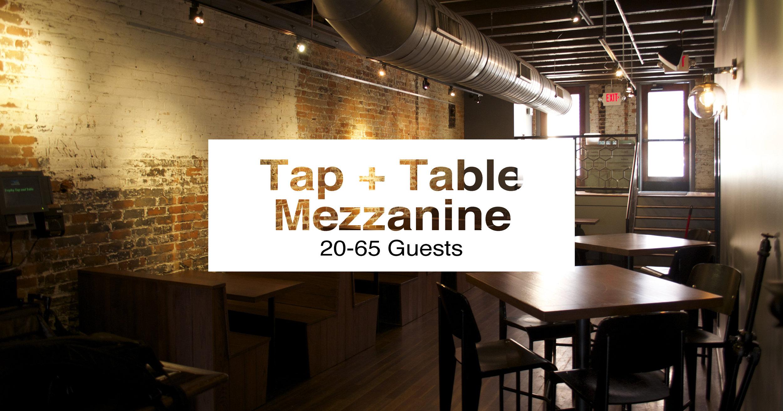 Tap + Table Mezzanine