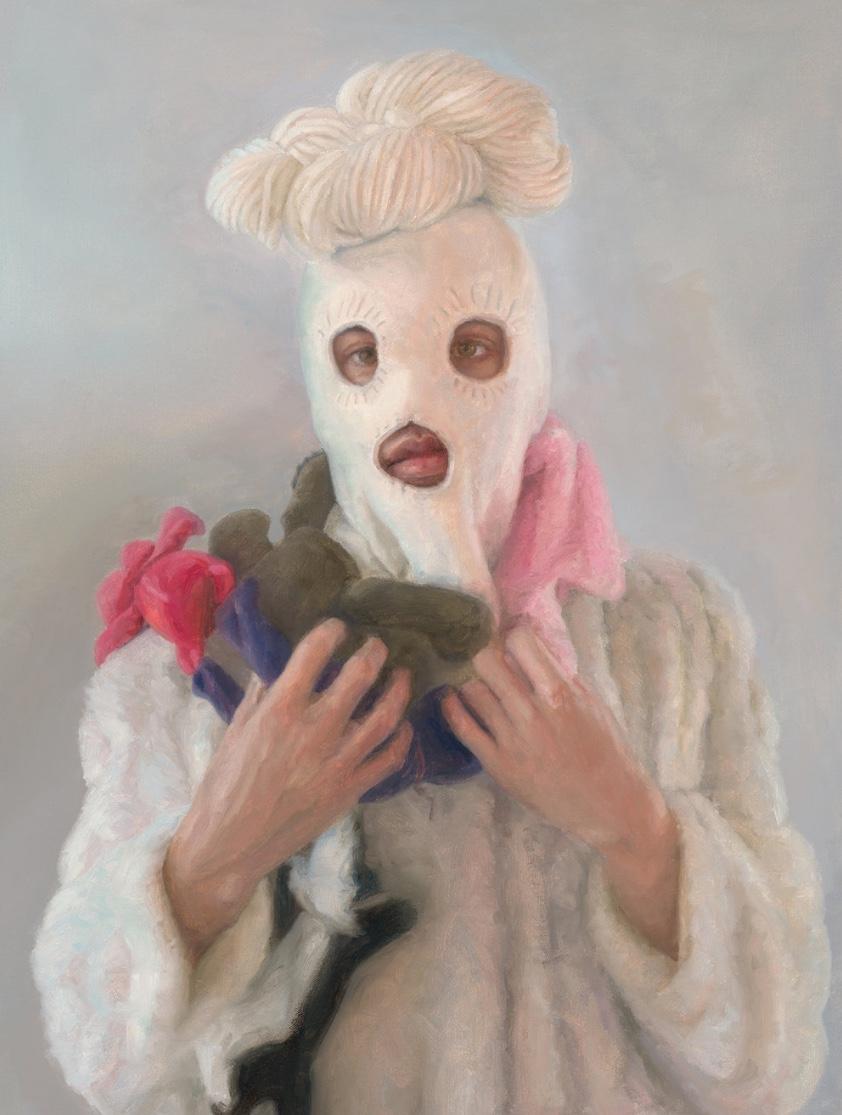 Tamera Avery,   Sunny , oil on canvas, 18x24, 2017