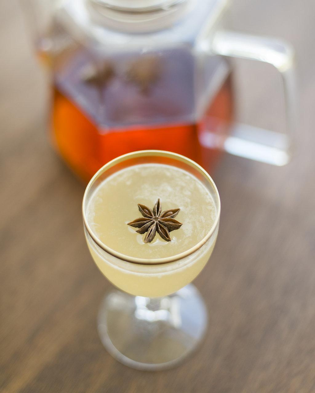 SWEET CHAI OF MINE   fresh pressed lemon, chai tea, honey, agave, reposado tequila