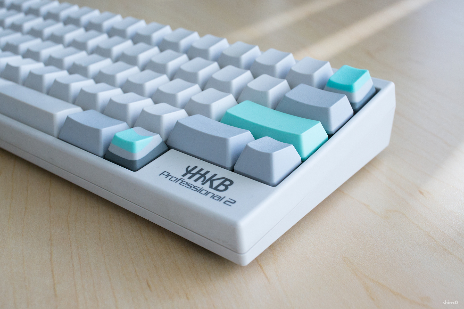 HHKB with HKP mods ( Photo by /u/shinz0 )