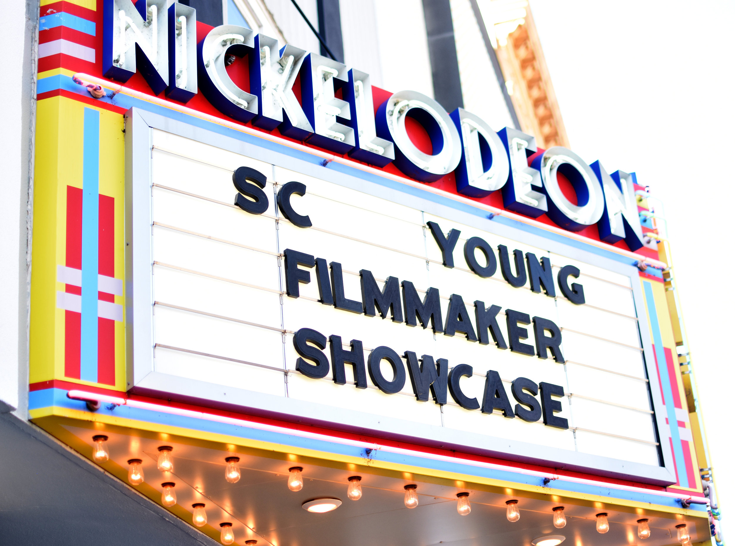 The Top Ten YFP Screening at the Nickelodeon Theater in Columbia.