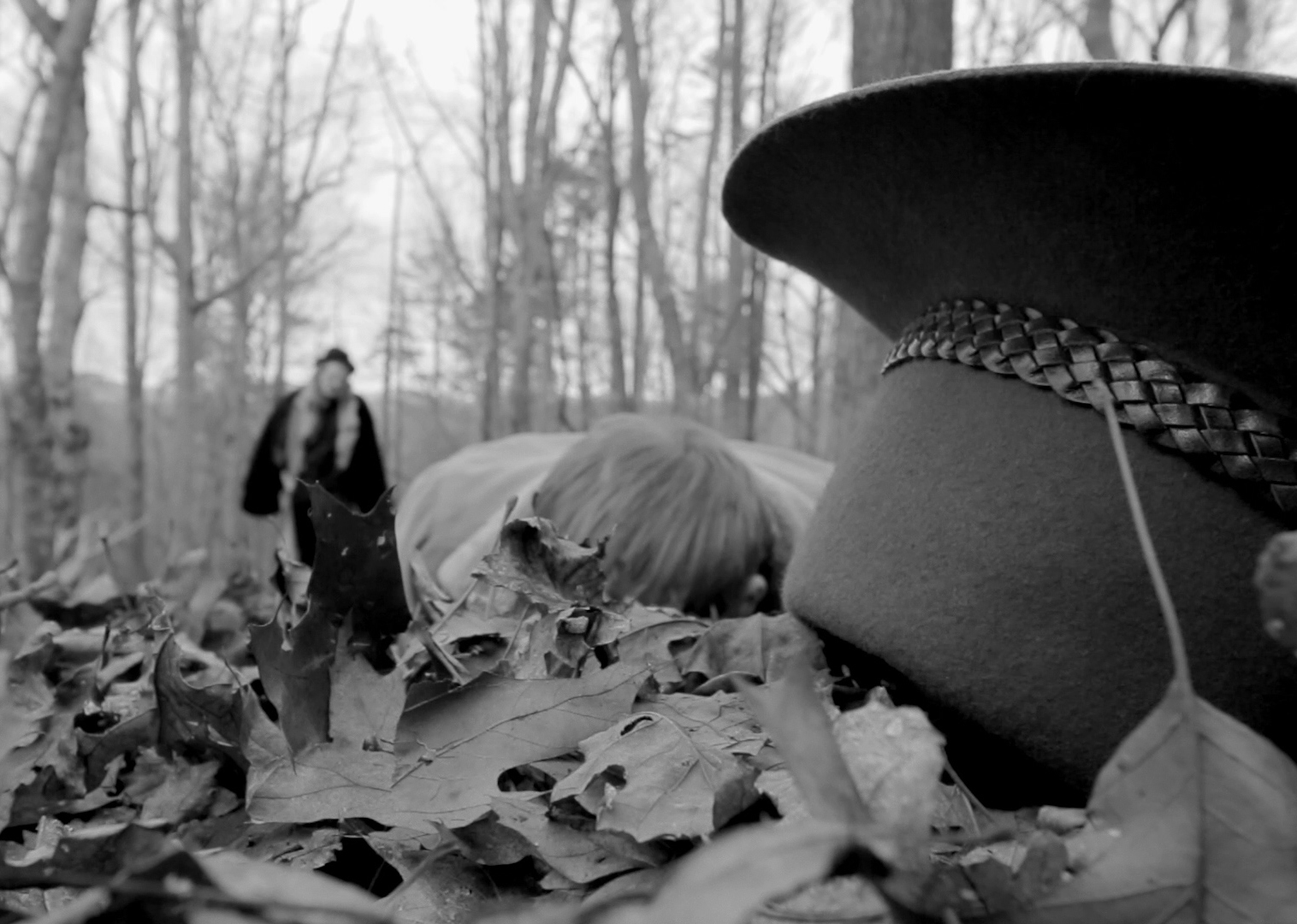 Still from Honorable Mention winner  The Richest Man In The Wood .