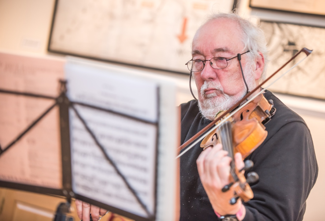 Dr. Tom Woolley- Second Violin - Tom grew up in Manchester and has been playing the violin since he was 10 years oldHe was inspired by his father who was an accomplished player who was awarded a scholarship with Albert Sammons, the leading UK violinist of the time in the 1930sTom has played in several amateur orchestras and also played string quartets for many years with his father.He currently plays with the Studio Symphony Orchestra.