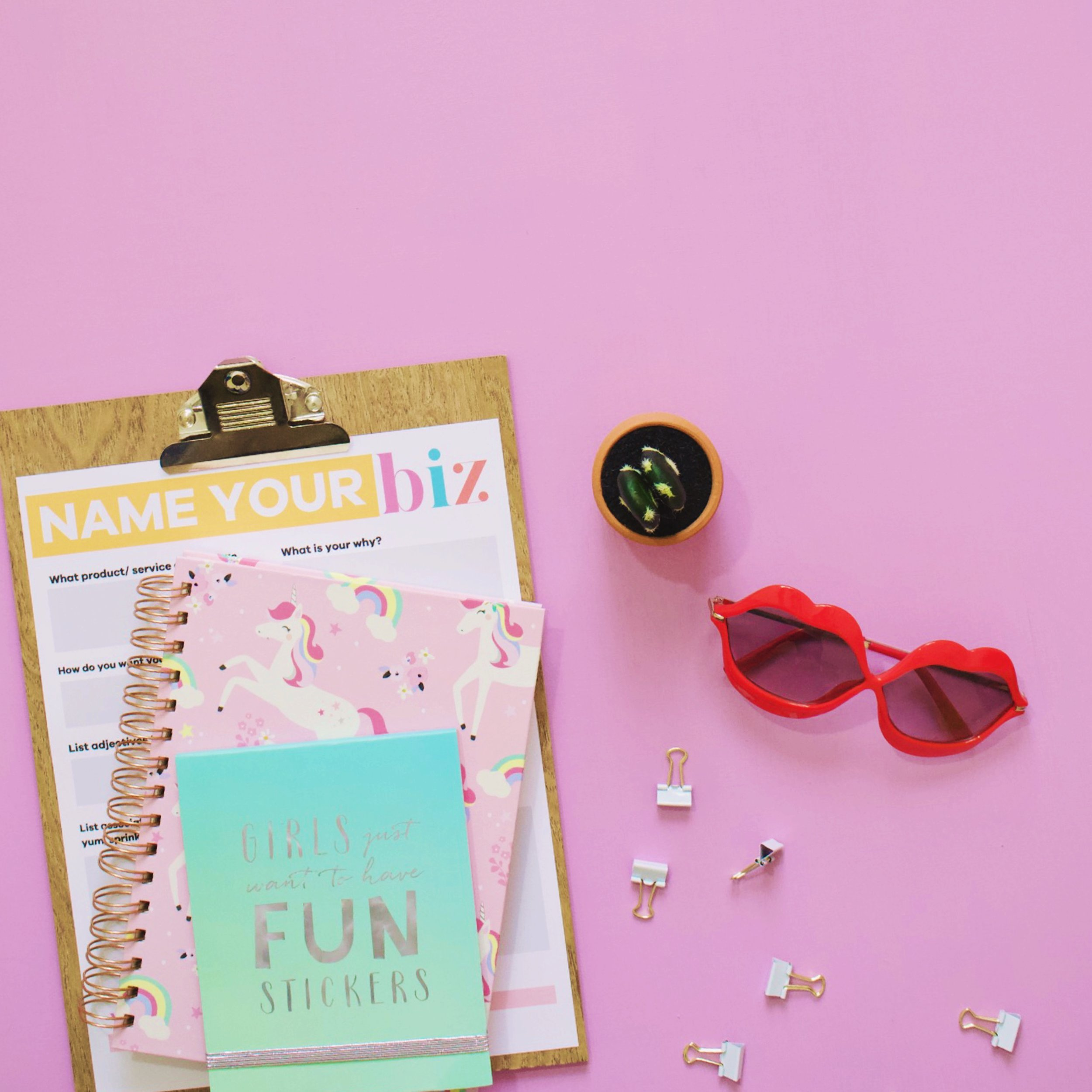 Name your Business Worksheet | How to name your creative business | Lady and Company Creative | Branding | Empowering Women Through Badass Brands