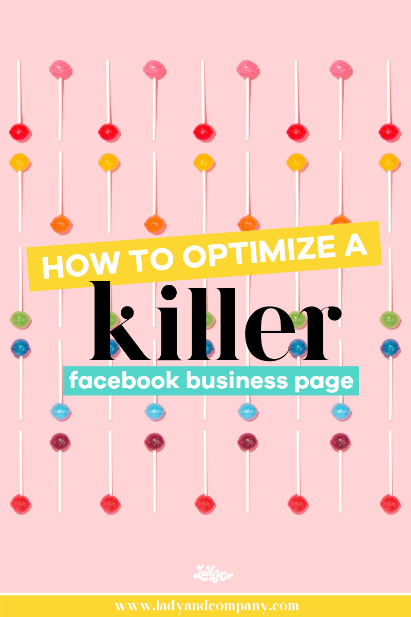 How to set up a killer Facebook business page | Lady and Company Creative