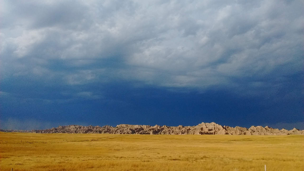 "Shobha Rao's ""room of her own"" while writing  Girls Burn Brighter  in the Badlands of South Dakota."