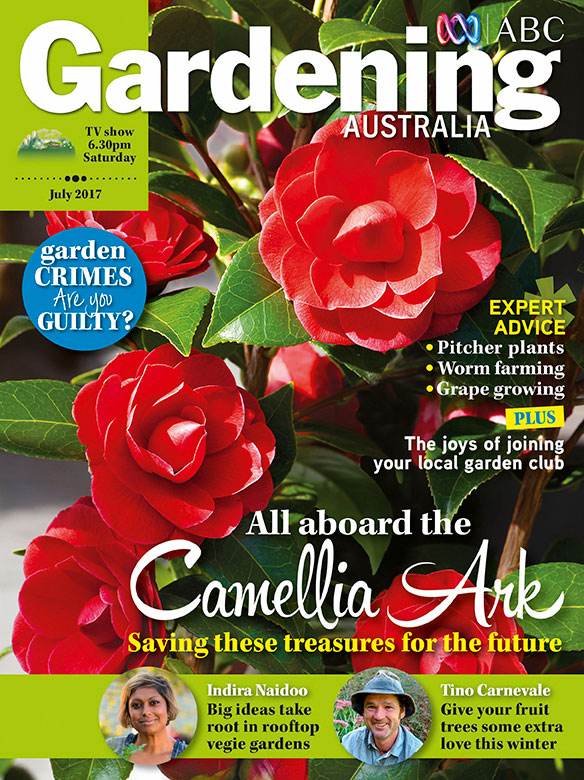 Find us in the 2017 July issue of Gardening Australia!