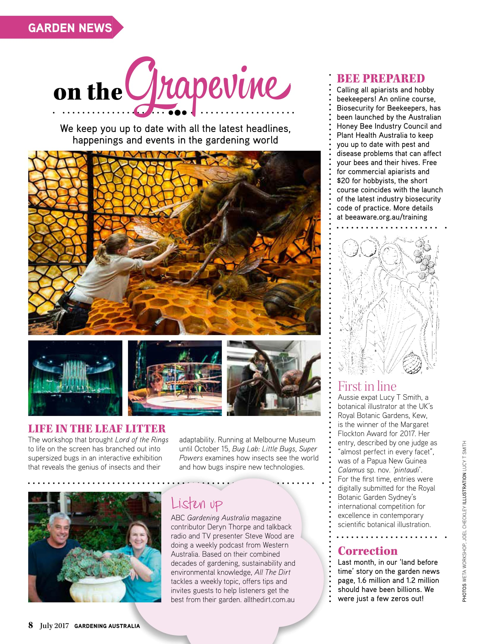 Page 47 in the 2017 July issue of Gardening Australia