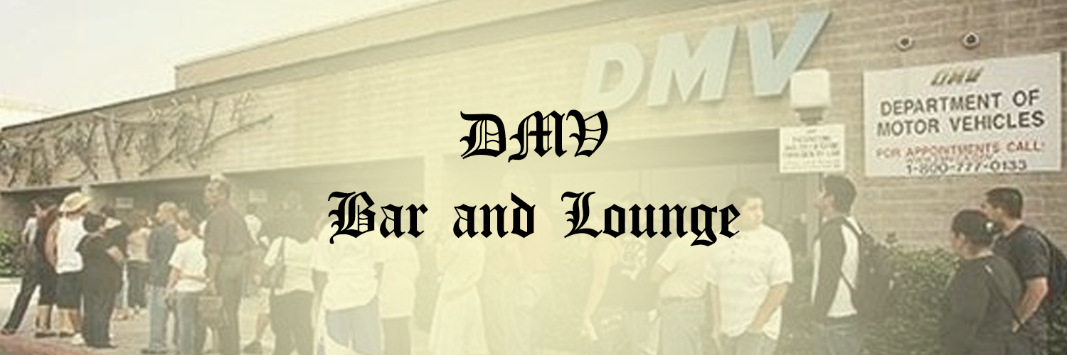 "Our bar is a line for the DMV. But, like a swagged out DMV, with smiling bartenders that deliver you fun instead of dullness. And VIPs will come to an ""appointment"" window."