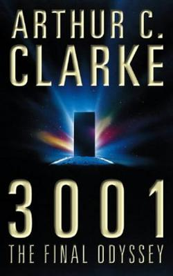 """Arthur C. Clarke's   3001: The Final Odyssey   features an orbital ring held aloft by four enormous inhabitable towers (assumed successors to space elevators) at the Equator.""\(^{[15]}\) For book summary, see:  https://en.wikipedia.org/wiki/3001:_The_Final_Odyssey"