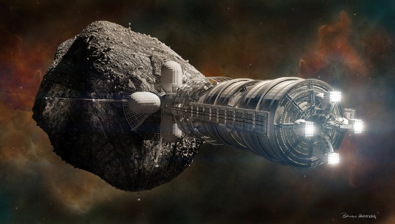 Spaceship Asteroid