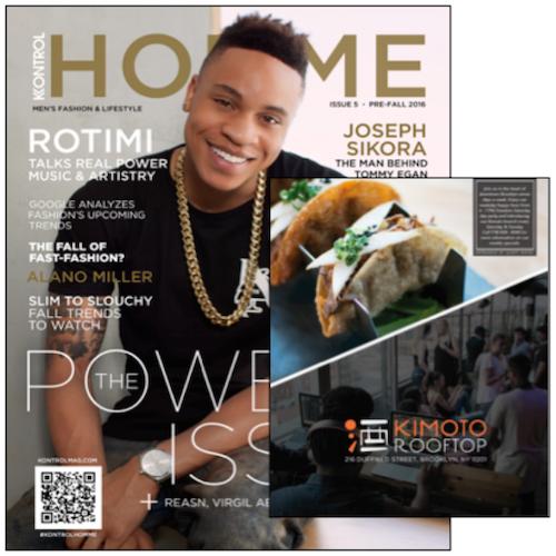 Kontrol Magazine  x Kimoto Rooftop