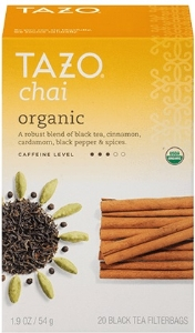 organic chai tazo office service portland or