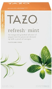 tazo refresh mint office service portland or