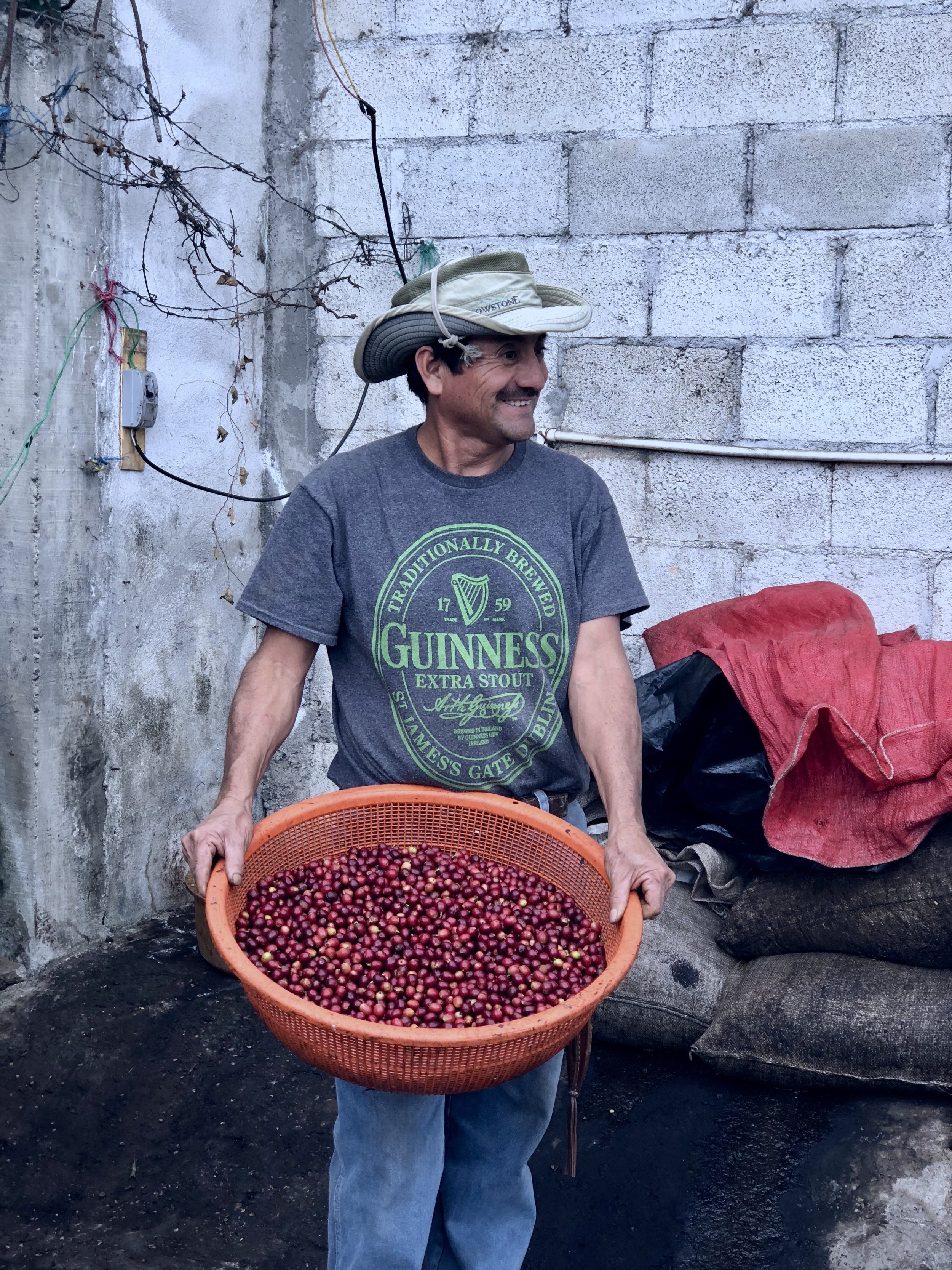 Meet Timoteo, a Guatemalan coffee farmer partnered with Nossa Familia.
