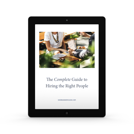 how to hire the right people, Sherri Wilson, Genius Communication