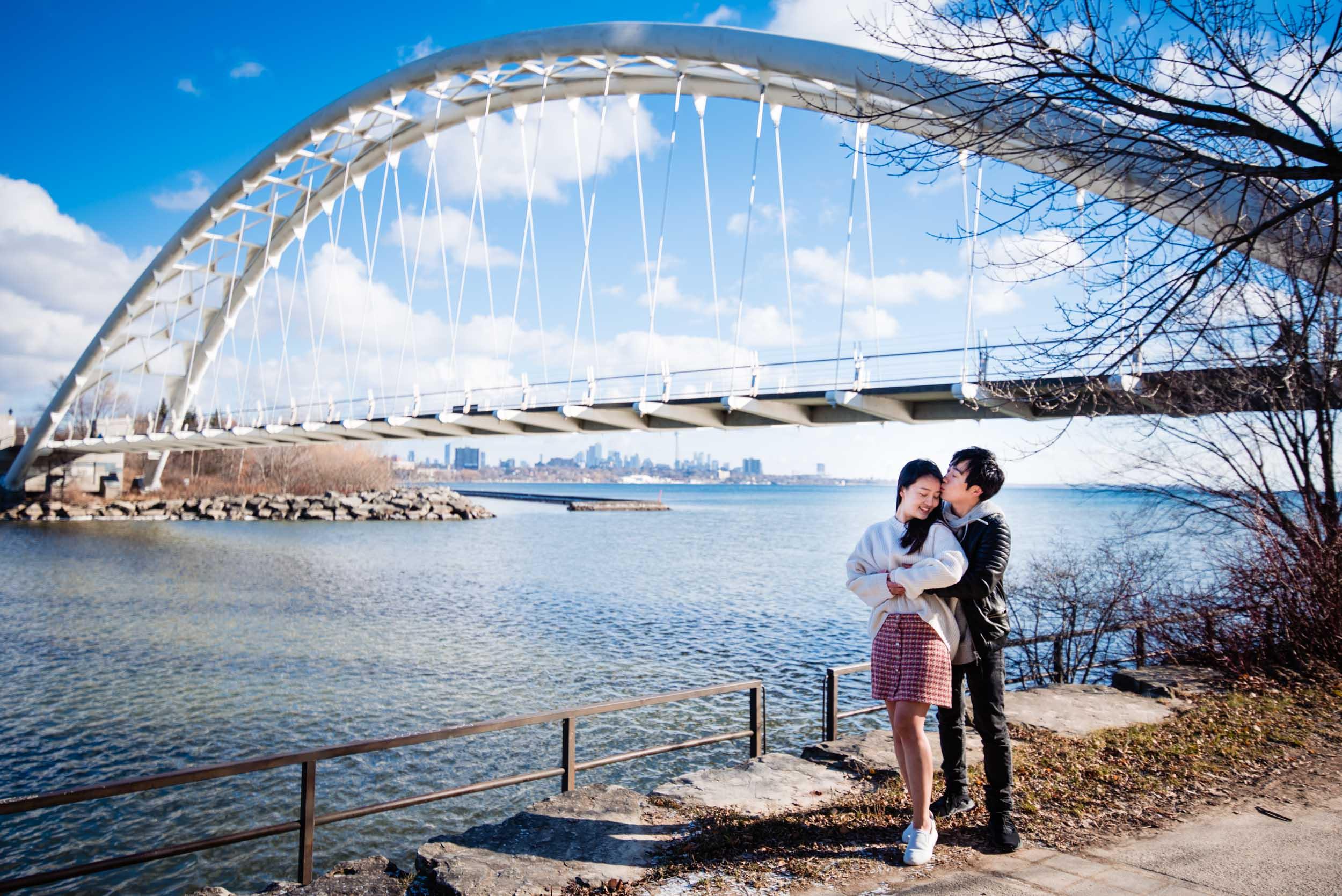 Humber Bay Arch Bridge, Toronto