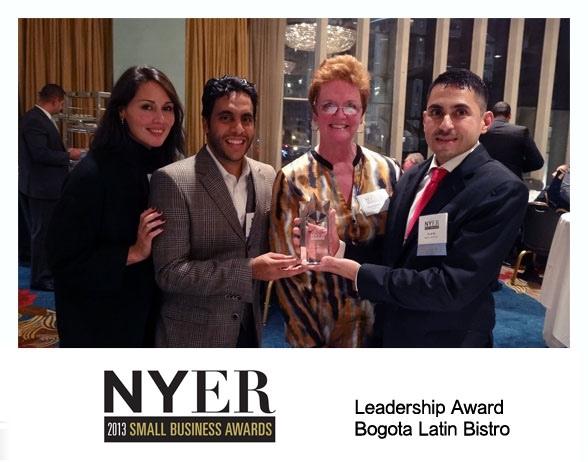 We won the Leadership Award at the 2013 NY Enterprise Report Small Business Awards!