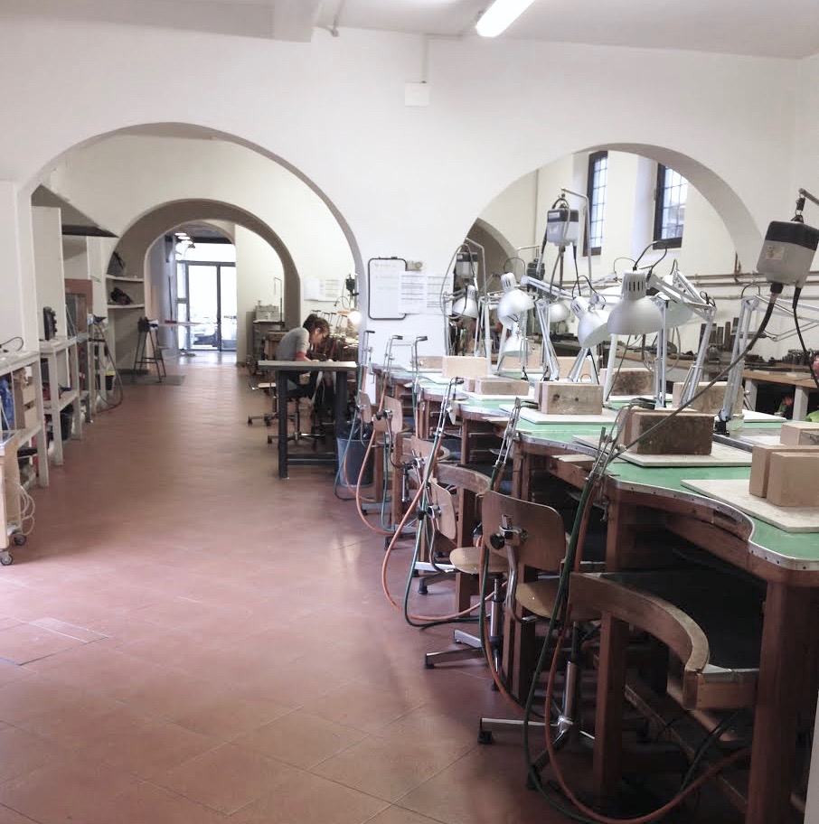 Alchimia: Contemporary Jewellery School, Florence, Italy.