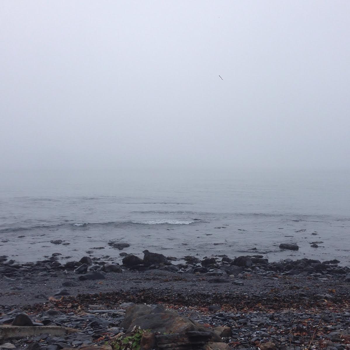 View of the Atlantic Ocean, winter 2017.