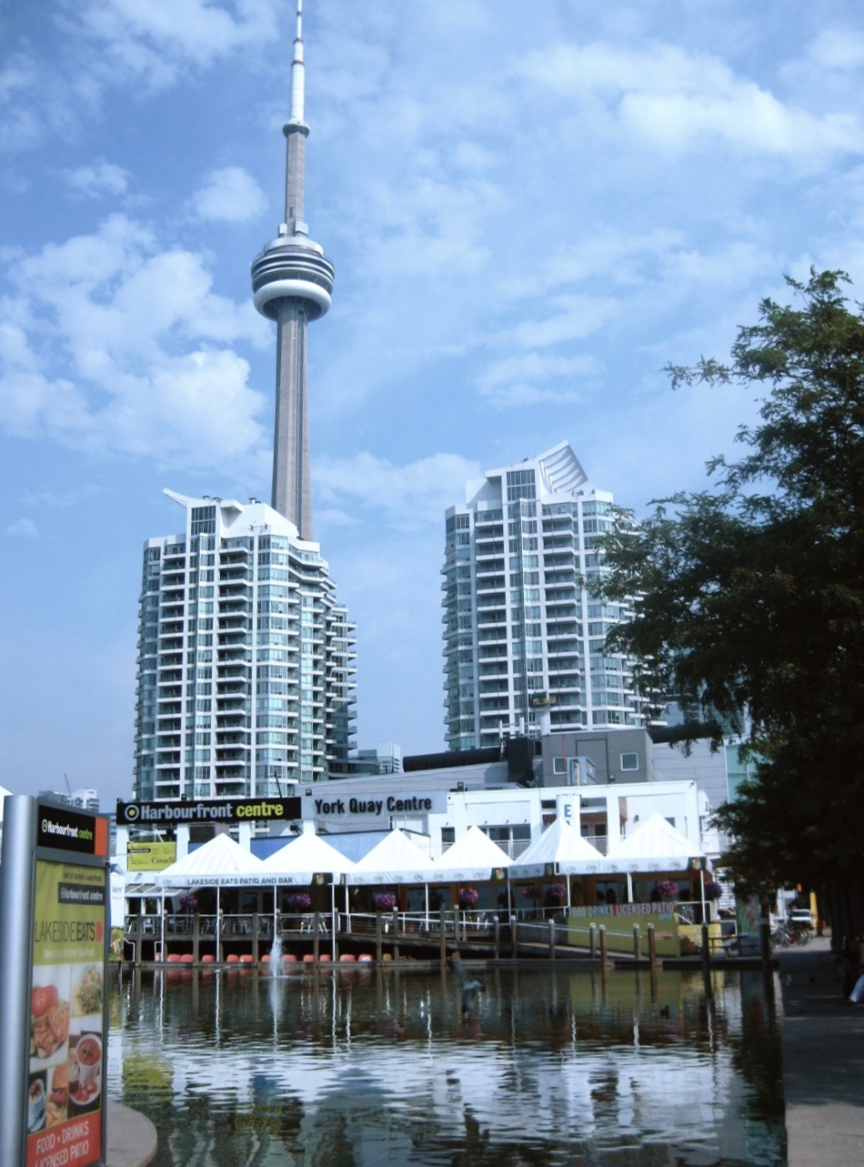 Harbourfront Centre, south view.