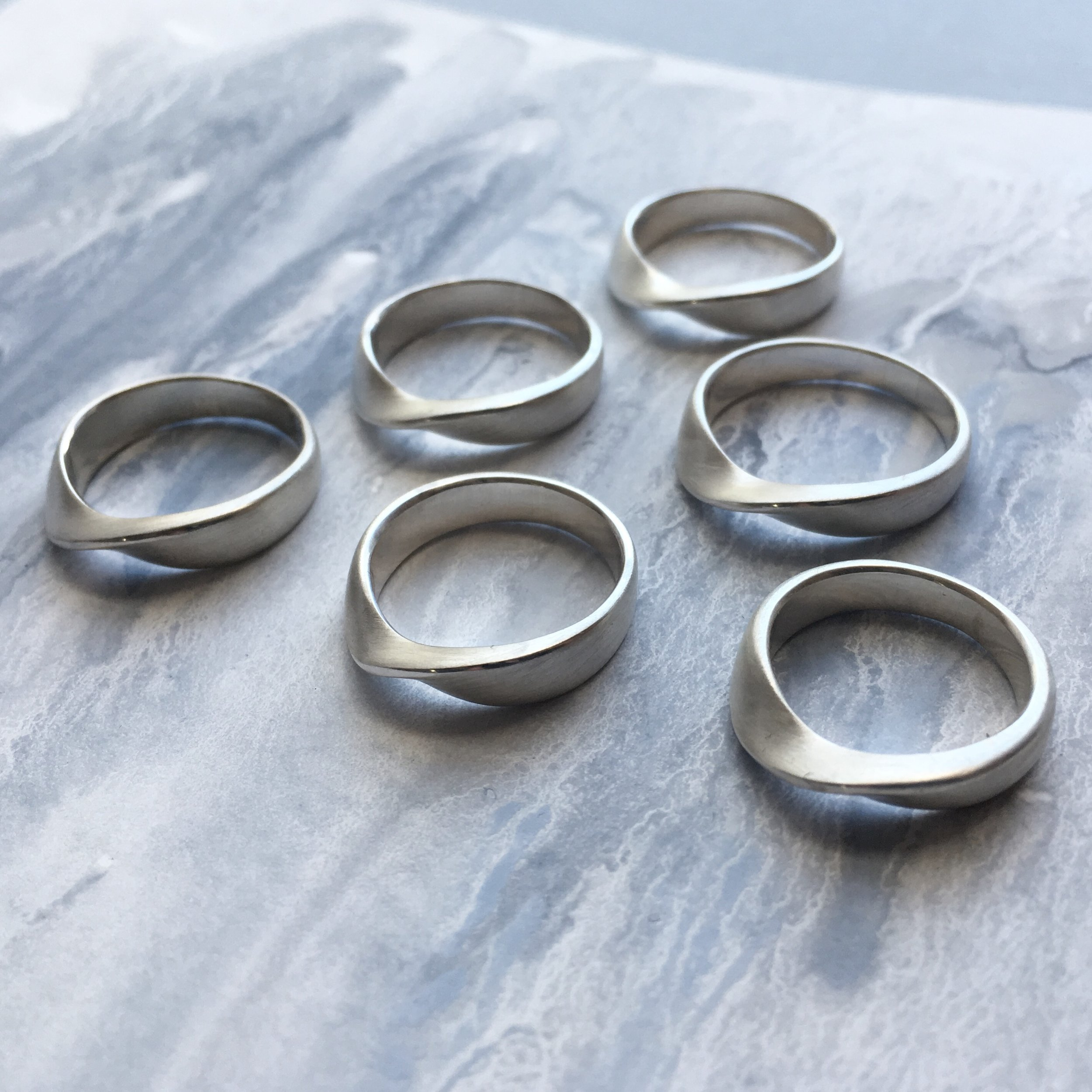 Soft Curve Rings  Shop here