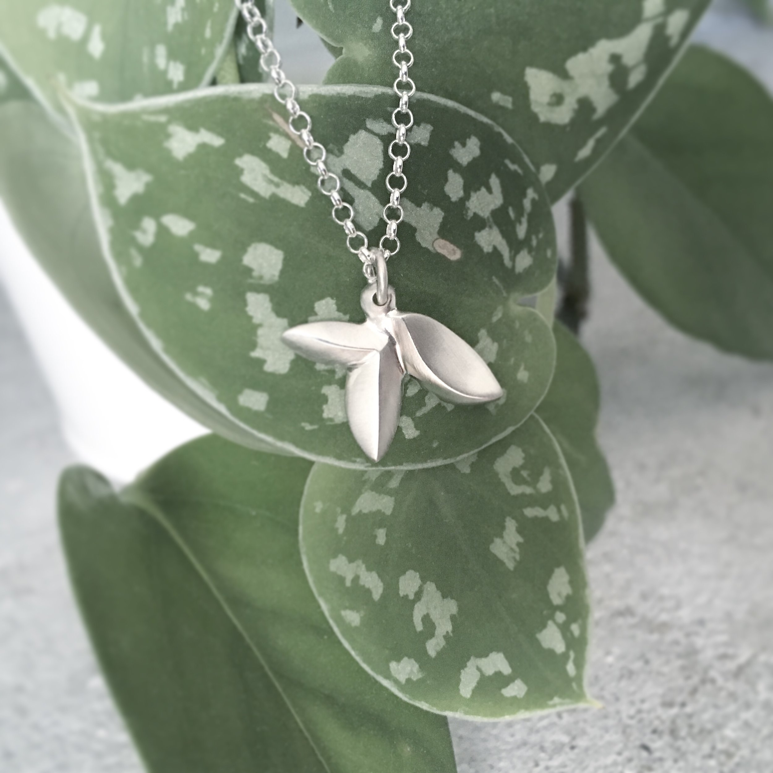 Tiny Bloom Pendant Necklace   Shop Here