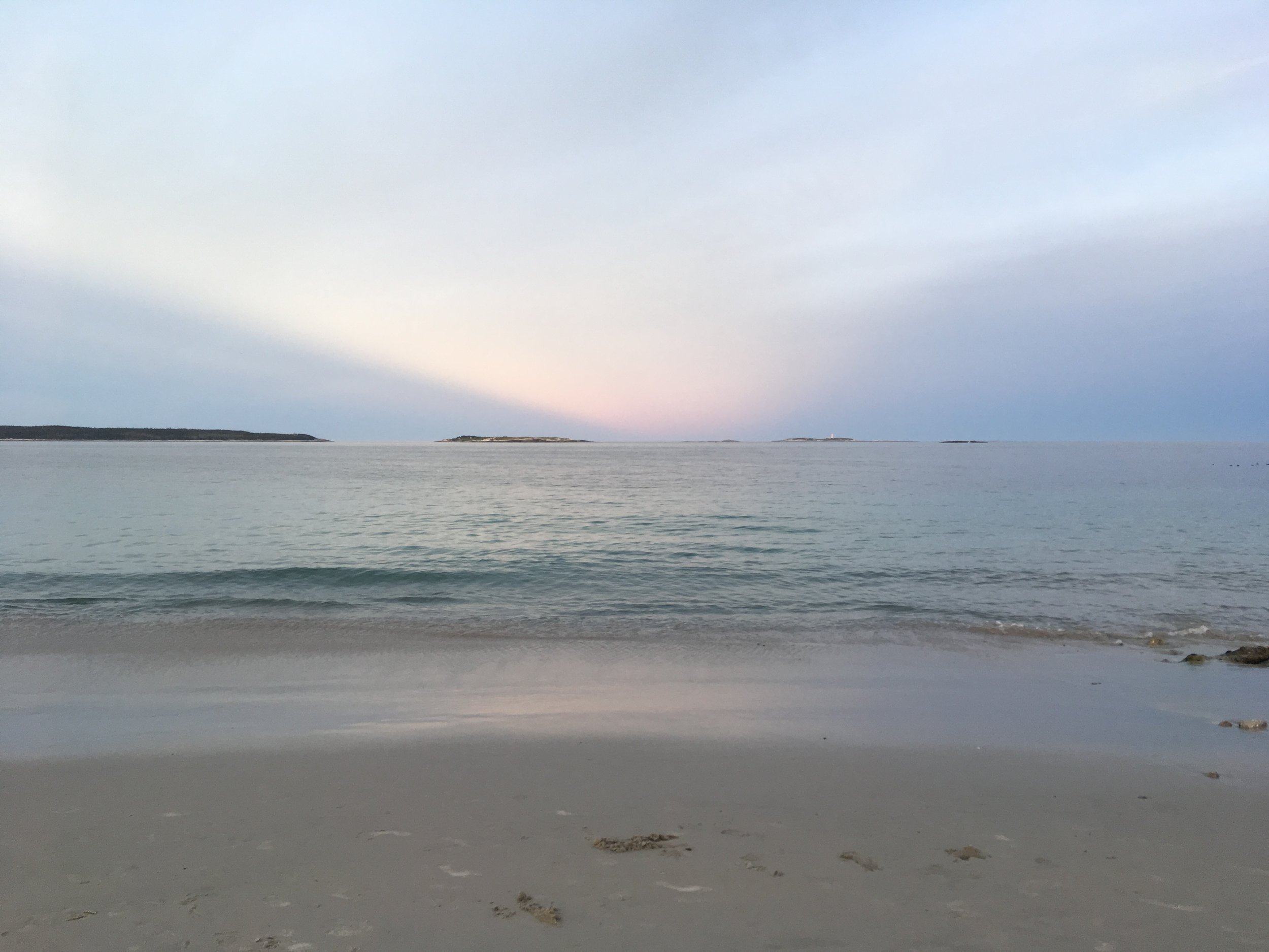 Crystal Crescent Beach, Halifax, NS by K. Claire MacDonald