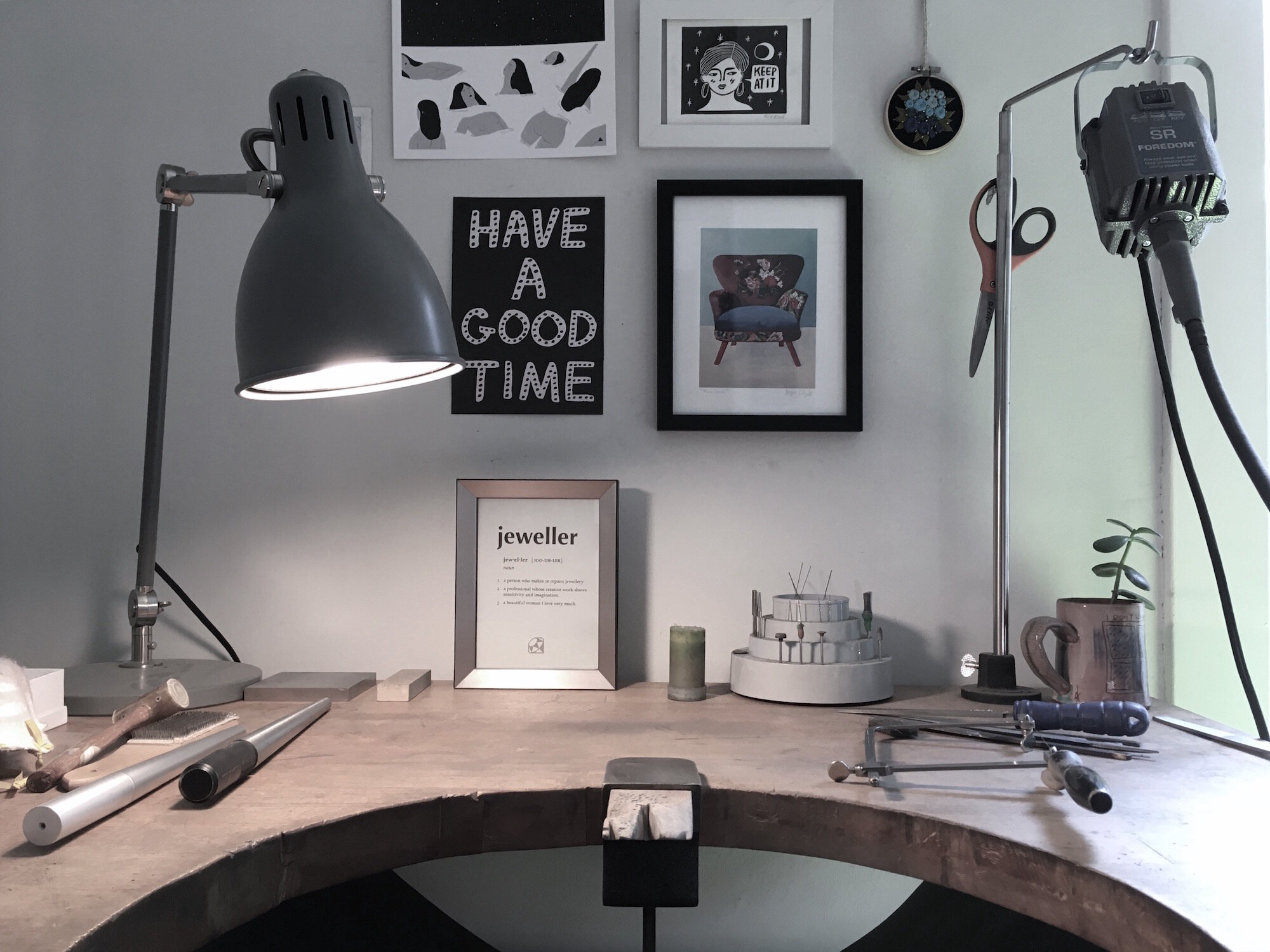 K. Claire MacDonald Jewellery Design & Sculpture studio