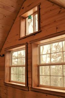 Windows to allow plenty of light to stream through.