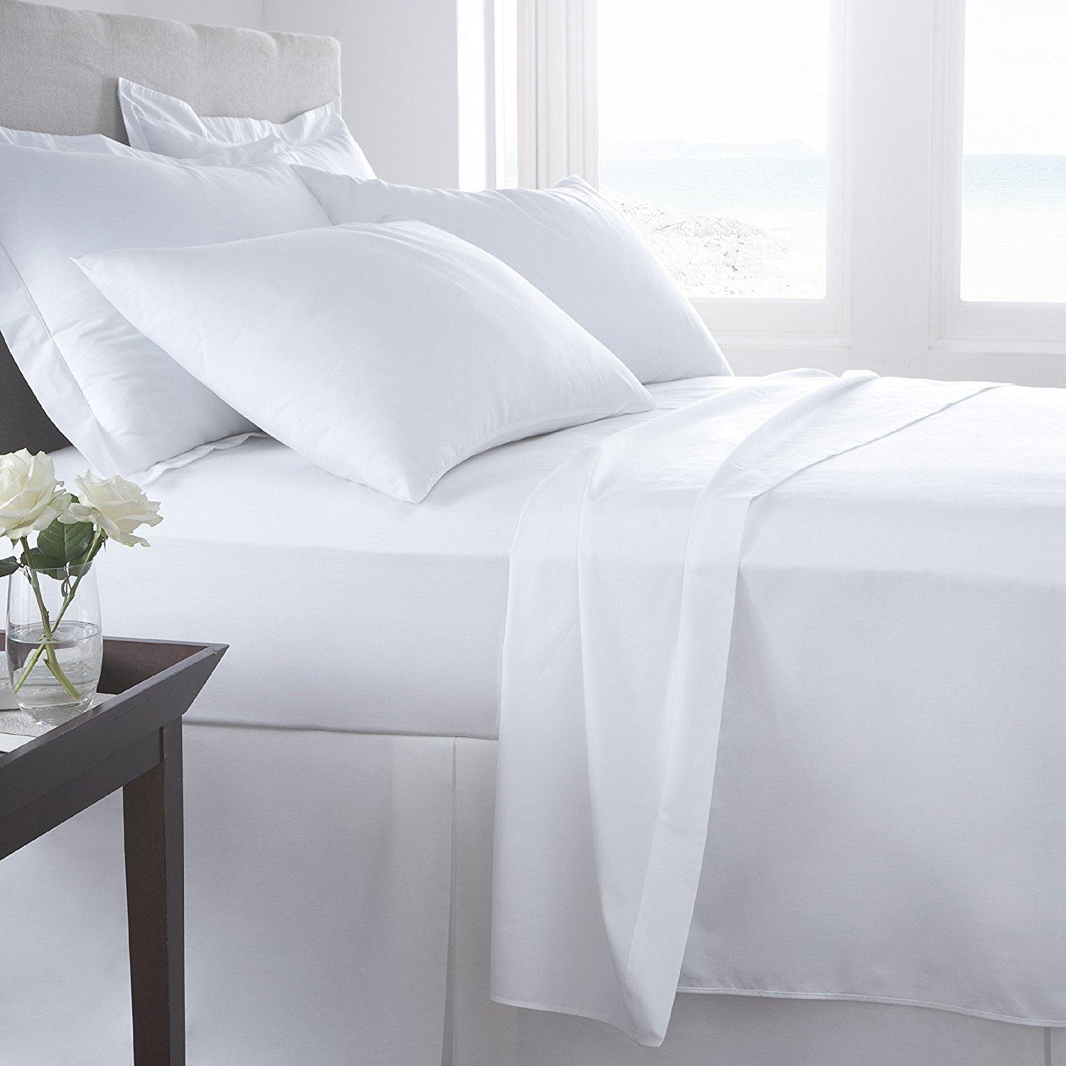 Wrinkle-free bedding may look nice, but don't sacrifice your health for the wrinkle-free look.