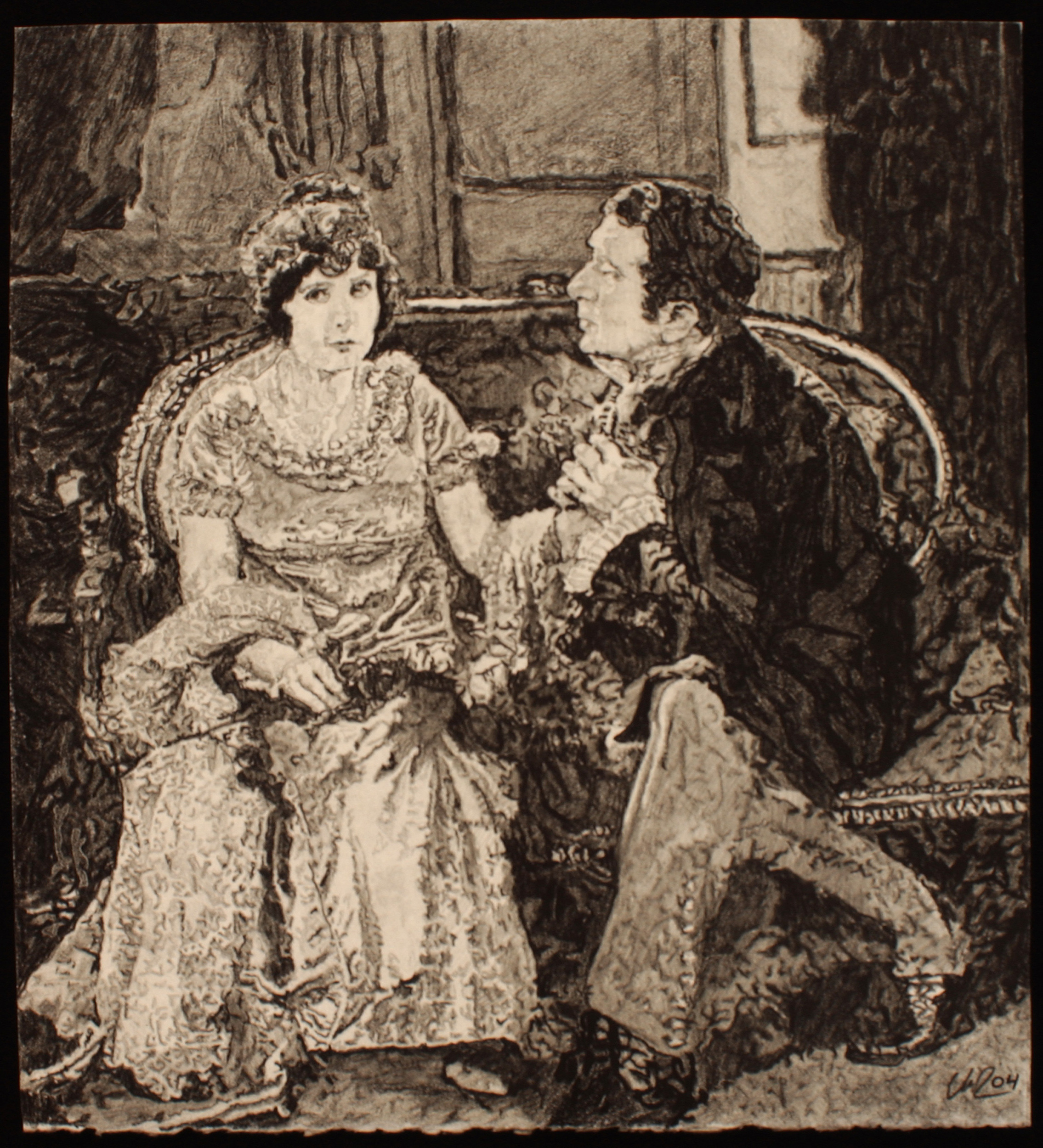 The Sitting Room, Where He Told Her It Was Time For Dinner