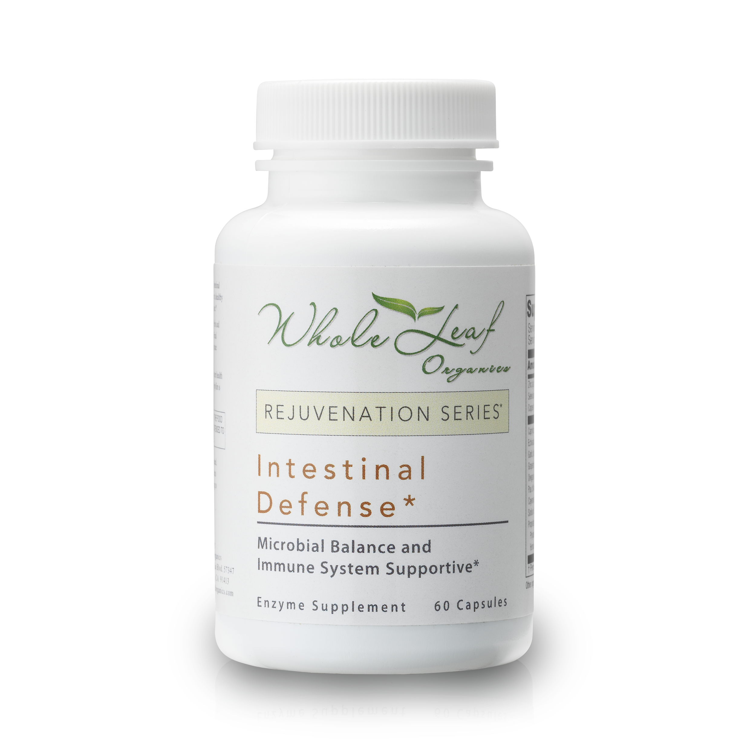 Intestinal  Targets overgrowth in the GI tract, reducing stomach bloat  Take 1 capsule twice a day with food.