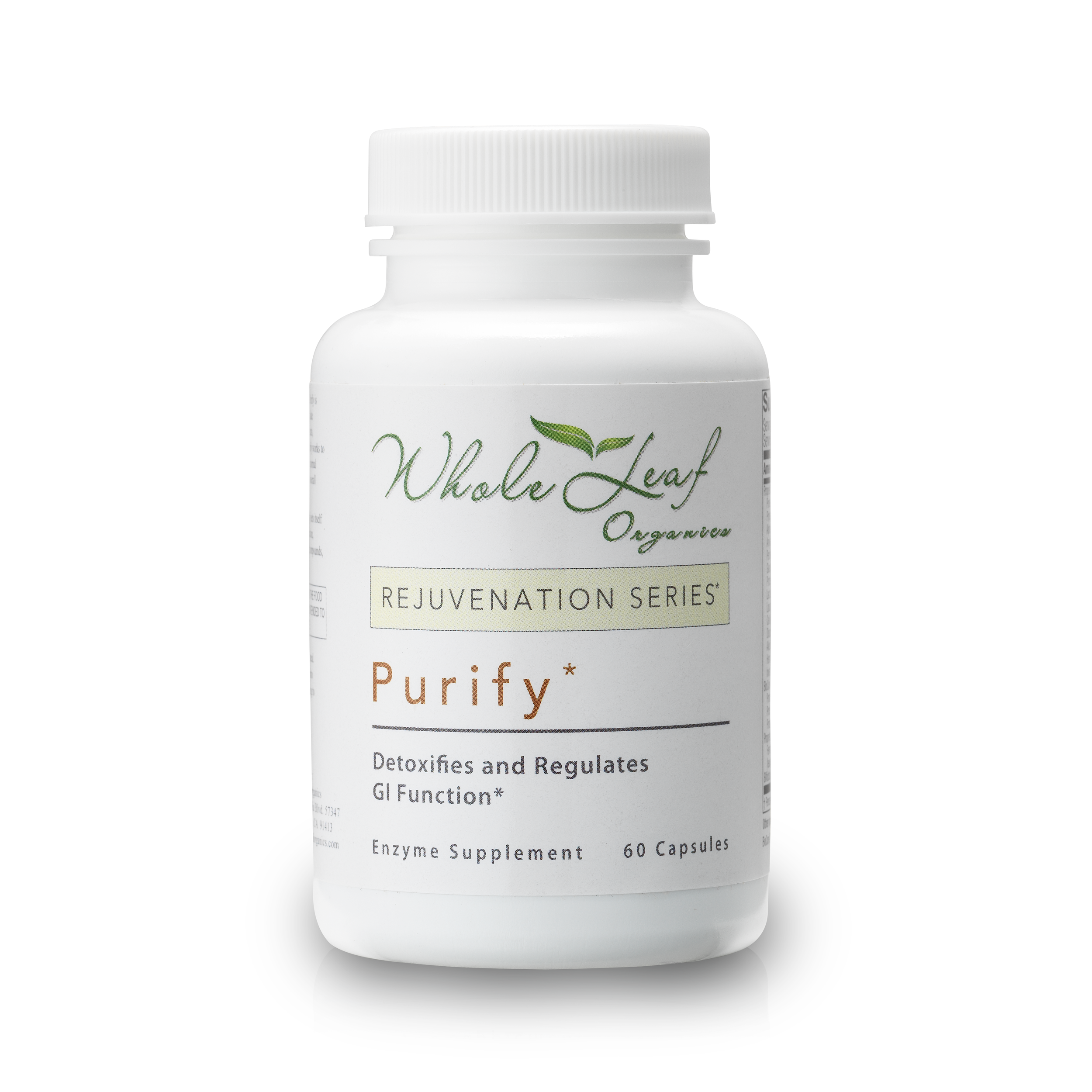 Purify  Breaks down carbs, helping you to reduce weight fast.   Take 1 capsule with each large meal.