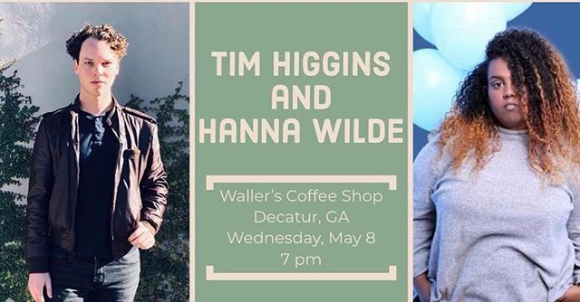Wednesday May 8th!!! @realtimhiggins and I have a show at Waller's Coffee Shop! Come stop by, listen to a few songs, a few stories and a few jokes that might not land. . . . . . . . . #singersongwriter #musicians #songoftheyear #indie #indiemusic #indieartist #independent #music #singer #originalsong #atlanta #atlmusic #atlartist #atlmusicians #nashvilleartist #nashvillesounds #nashvillemusic #nashville #bodypositivity #applemusic #spotify #itunes #tidal  #ethiopian #habesha #atlantamusic #atlantamusicscene
