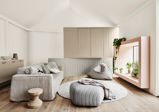 A stunning neutral space. Image: Dulux Inspiration Gallery
