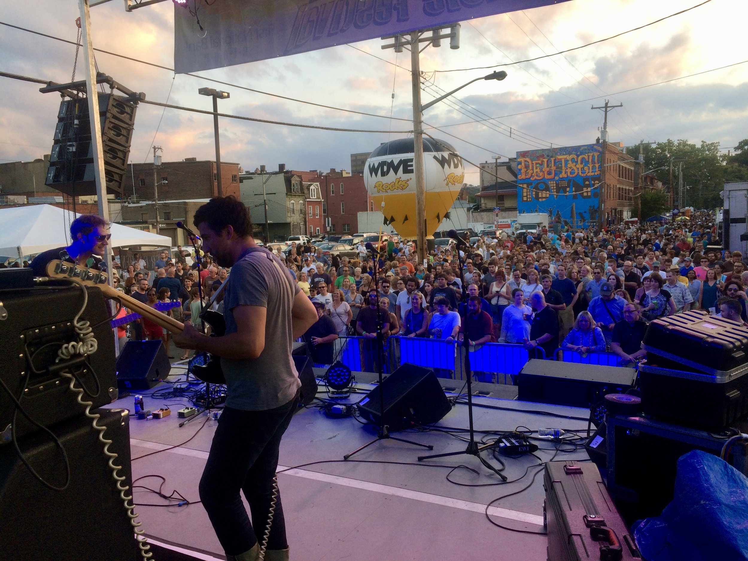 "Deutschtown Music Festival with WYEP album of the year winner ""Meeting of Important People"""