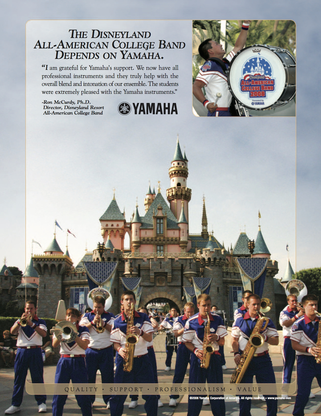 ...and I'm still using Yamaha!