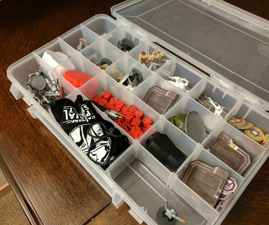 It's not pretty, but it's SOME degree of organization. Actually, please do better than this.