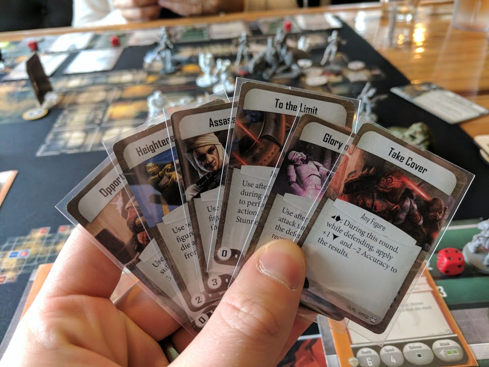 You may wonder how someone has so many Command cards. The answer: missed opportunities.