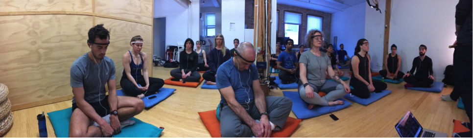 / / March 27, 2017 - Pop-up class w/ MUSE - a mind-body UN//TY session at InterAxon's Studio in Toronto. For the meditation portion, MUSE headbands provided a unique & powerful meditative experience elevated through the brain-computer interface (BCI) technology of MUSE. Following up with an intensive physical workout. Proceeds from the event went towards the purchase of a MUSE headband for a group of at-risk youth at Oasis Skateboard Factory (OSF) to help them with their own mindfulness practice. OSF is an alternative arts high school in Toronto.