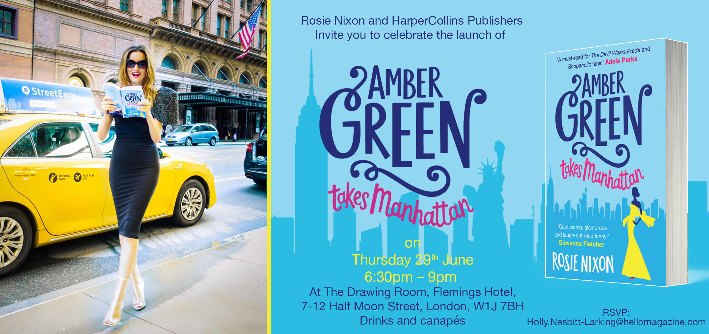 Amber Green Book Launch